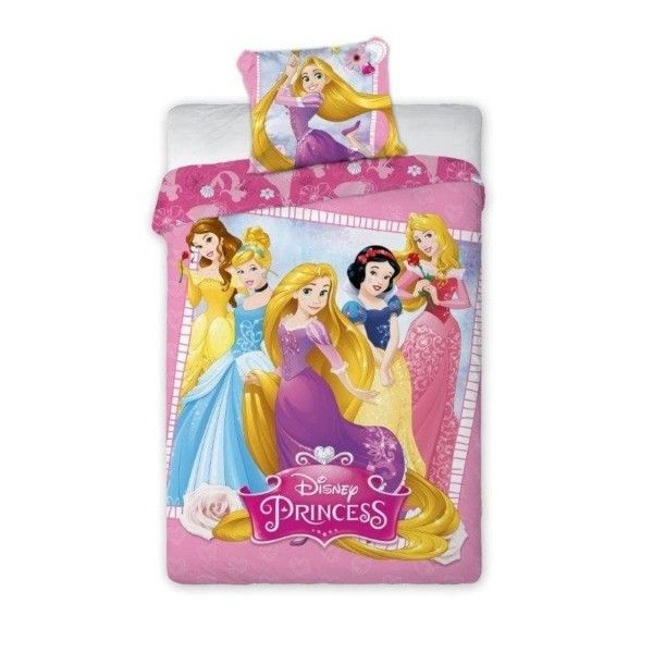 Disney Princesses   Parure de lit Princesse Disney Raiponce   pas