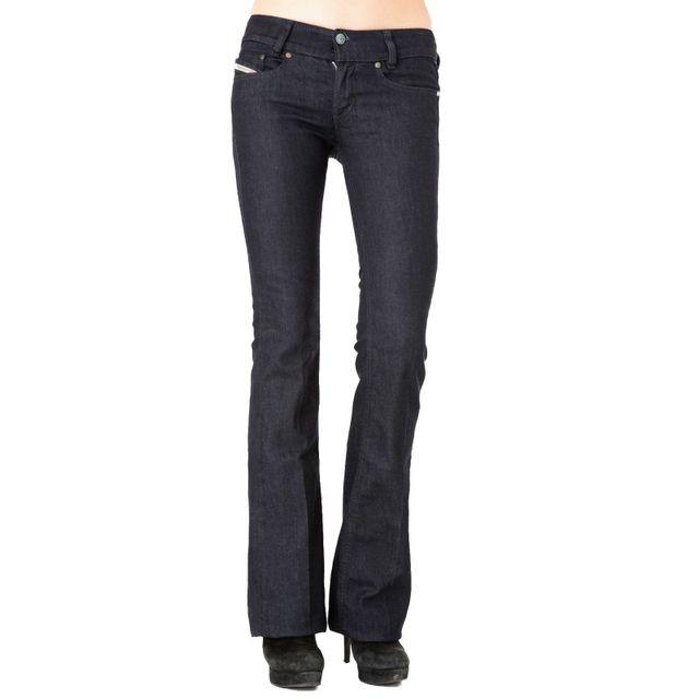 Diesel - Jean - Femme - Louvely 00aa8 Stretch - Bleu Brut - pas cher Achat    Vente Jeans femme - RueDuCommerce 775e9261829