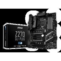 MSI - Carte mère Z270 SLI PLUS Socket 1151 - Chipset Z270 Kabylake