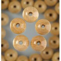 Efco - Lot De 110 Perles En Bois Diam. 6 Mm