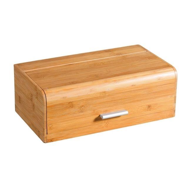 Boite à pain en bambou - Boîte de rangement pour la cuisine - pas ...