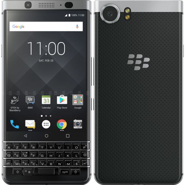 BLACKBERRY KEYone - Argent
