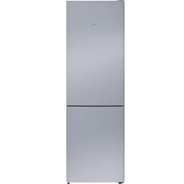 NEFF réfrigérateur combiné 60cm 324l a++ nofrost inox - kg7362i30