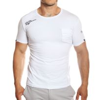 Tazzio - T-shirt col rond manches courtes blanc