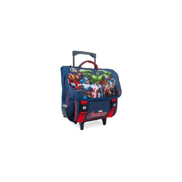 65a0ac0035 Marque Generique - Avengers Trolley 2 compartiments - Primaire - Garçon - .