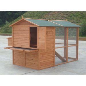 chemin des poulaillers poulailer janz pas cher achat. Black Bedroom Furniture Sets. Home Design Ideas