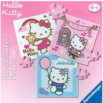 Ravensburg - 3 puzzles - Hello Kitty