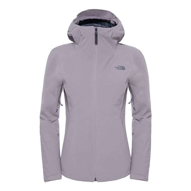 4a3c52d5fb4 The north face - Veste ThermoBall Triclimate gris femme - pas cher ...