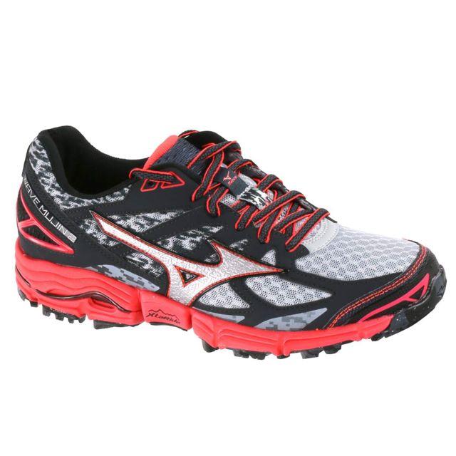 37cc66f5380 Mizuno - Wave Mujin 2 Chaussure Femme - Taille 38 - Noir - pas cher Achat   Vente  Chaussures running - RueDuCommerce