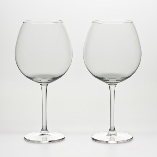 ROYAL LEERDAM LOT DE 2 VERRES XXL BORDEAUX 72CL 797220
