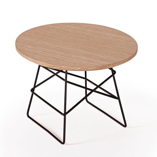 Inside 75 Innovation Living Grid tables basse design taille S coloris chêne