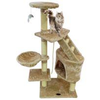 Perchoir pour Chat, 120 cm, 5 perchoirs, Beige