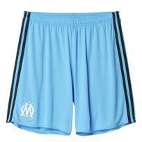 Adidas performance - Om 3 Short Replica Bleu Short Club Homme Football
