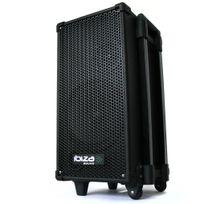IBIZA - Sono Portable DJ PA Lecteur CD MP3 USB Karaoké Batterie
