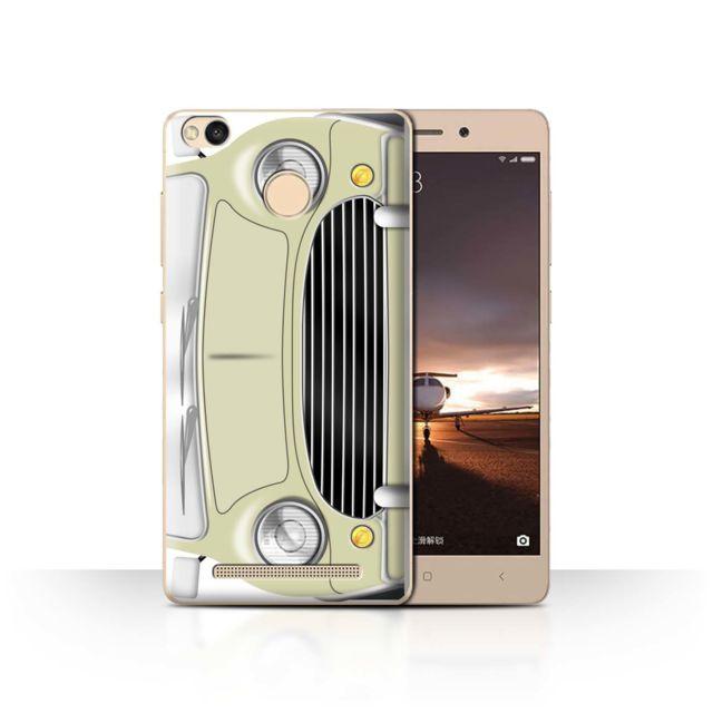 Coque de / Coque/Etui/Housse pour Xiaomi Redmi 3 Pro/3S Prime / Laguna  Beige Design / Mini Rétro Classique Collection