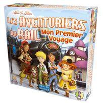 Asmodee Editions - Les Aventuriers du Rail : Mon premier Voyage en Europe
