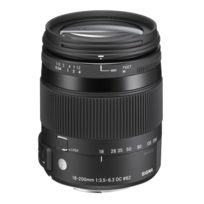 Sigma - 18-200mm F/3,5-6,3 Dc Os Hsm Macro Contemporary Monture