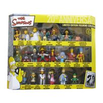 Unitedlabels Ag - Simpsons 20th Anniversary coffret collector 21 figurines Pvc 8 cm