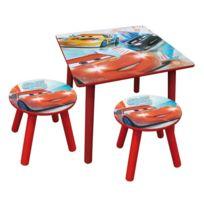 Fun House - Cars - Ensemble Table et Tabourets Cars
