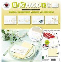 Karen Marie Klip - Cartes avec Coeurs Blanc 6 feuilles