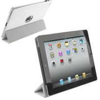 Yonis - Smart cover new iPad 4 retina housse coque sticker blanc