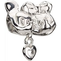 Chamilia - Charm en Argent - Collection Disney - Mickey & Minnie
