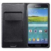 Samsung - Etui Folio Galaxy S5 Wallet noir