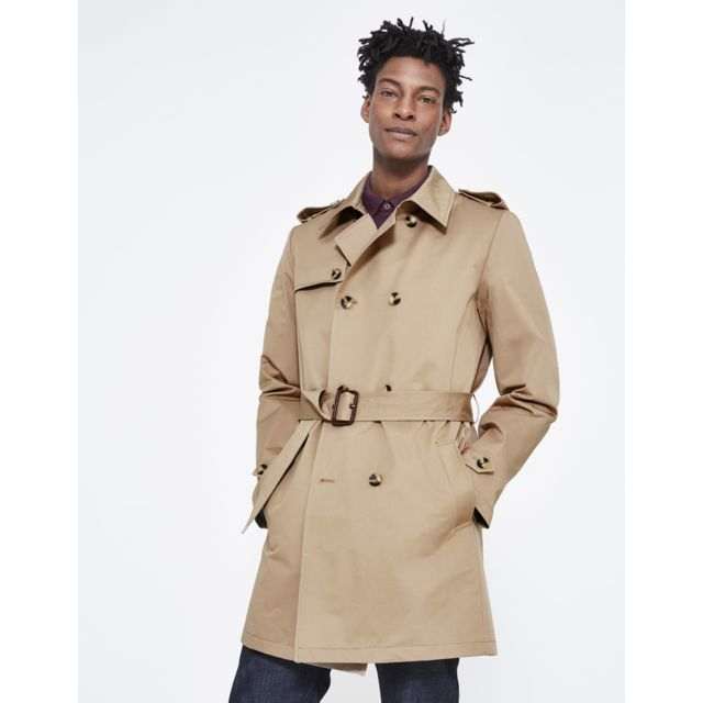 pas cher Vente CELIO Trench Beige Lutrench Achat OP80nwk