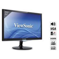VIEWSONIC - Ecran 21,5'' LED 2ms DVI HDMI HP - VX2252MH
