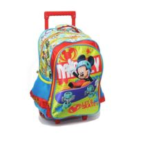 Mickey Et Ses Amis - Cartable à roulettes Mickey Mouse 43 Cm Trolley