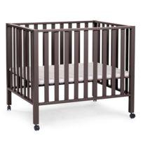 aa537e9c292c COMFORIUM - Parc bébé 75 x 95 cm en MDF et hêtre coloris gris foncé avec