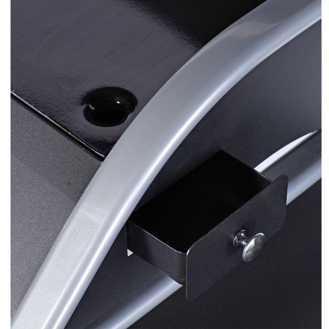 FAVEX - plancha gaz 4200w plaque acier émaillée 64x29,5cm avec chariot - 860.0010