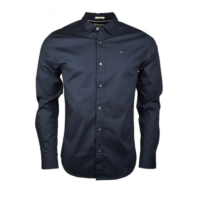 Chemise Dénim Original bleu marine pour homme