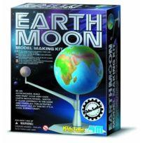 4M - Dam 5603241 - Jeu De Construction - Kidzlabs - Kit De Fabrication Terre-lune Modele