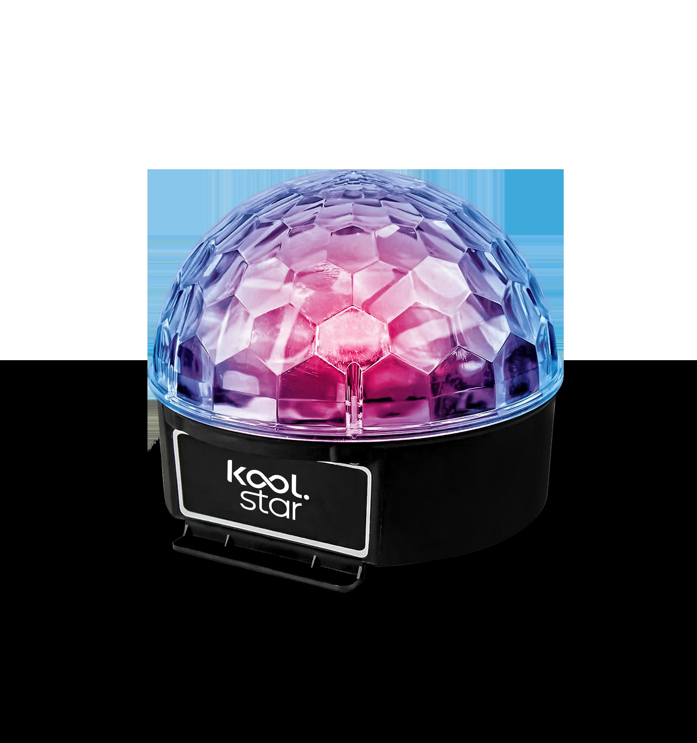 KOOLSTAR Jeux de lumière Ball 6 - 6 couleurs