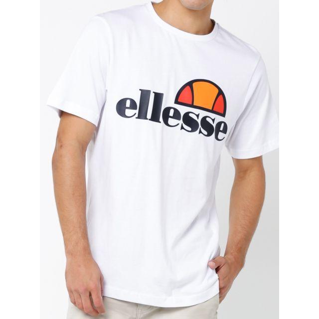 b110d3a261e Ellesse - T-shirt Homme 2018 Sas03822 Blanc - pas cher Achat   Vente Tee  shirt homme - RueDuCommerce