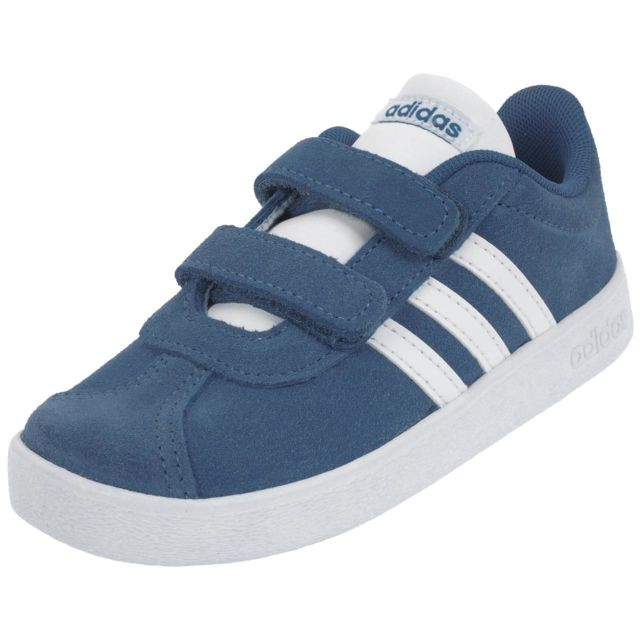 65a265446f8b5 Adidas - Chaussures scratch Adidas Vl court 2.0 cmf i traroy Bleu 76584