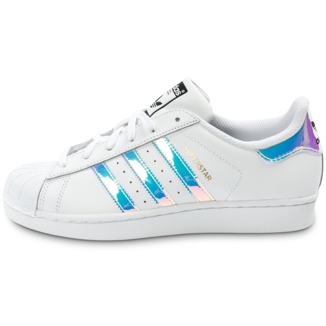 adidas superstar irisée junior