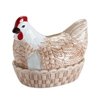Mason Cash - Poule range œufs en céramique Hen Nest