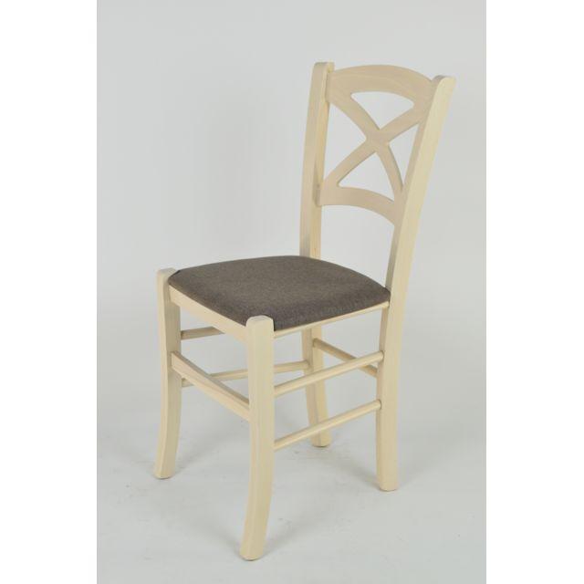 Tommychairs Set 2 Chaises Cross Pour Cuisine Et Bar Structure