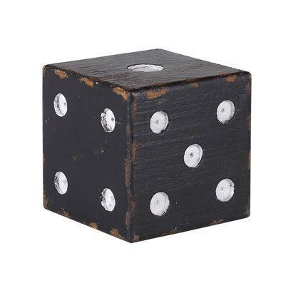 Athezza Dé bois noir 13 cm