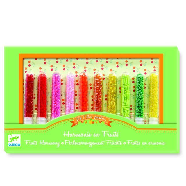 Djeco Oh! les perles : Rocailles Harmonie en fruits
