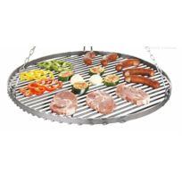 Cook - Maison De La Tendance - Grille de barbecue en acier noir Ø 70cm