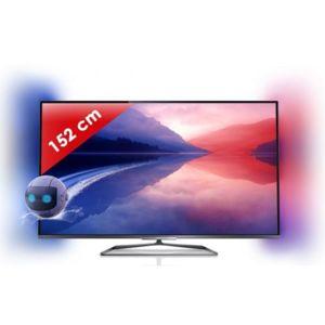 Philips 60pfl6008h t l viseur led smart tv ultra plat 3d 60 pouces 152 - Televiseur 152 cm pas cher ...