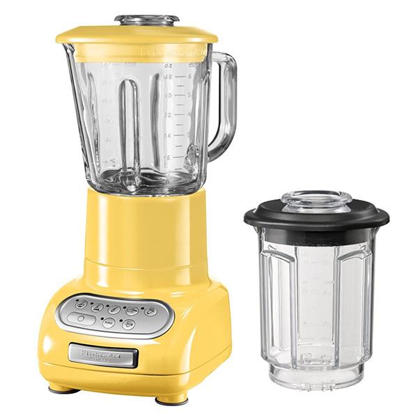 blender/mixeur 1,5l 550w avec bol en verre + bol 0.75l - 5ksb5553 emy
