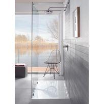 VILLEROY & BOCH - Villeroy et Boch - Receveur Architectura Metalrim - hauteur 48mm, 140 x 90