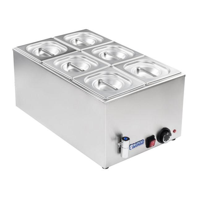 Autre Bain-marie électrique professionnel bac Gn 1/6 avec robinet de vidange 1 200 watts 3614107