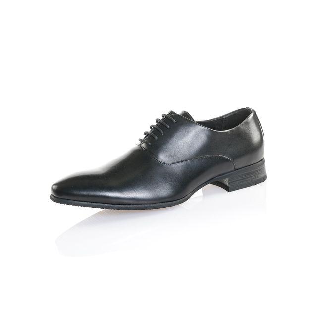 Reservoir Shoes Chaussure ville homme noir efet cuir 41