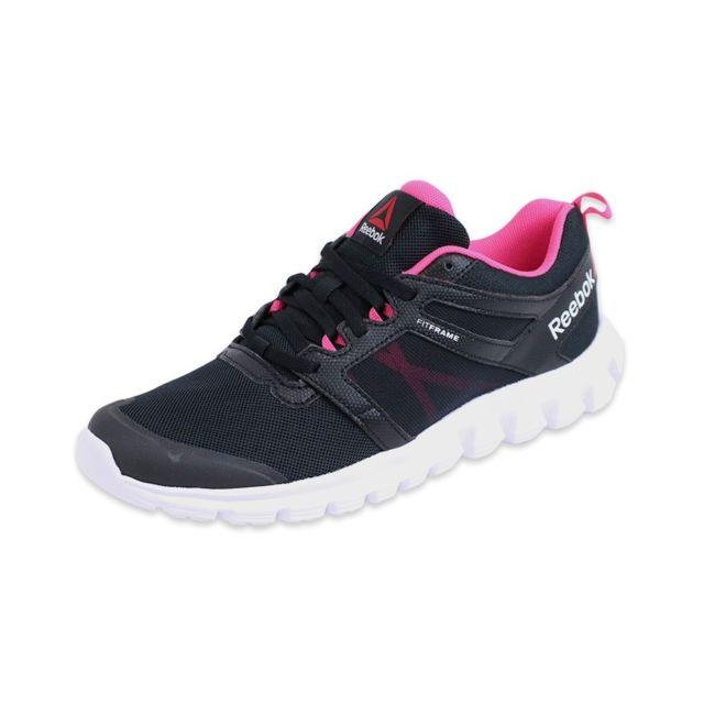 4417a6740e974 Reebok - Chaussures Hexaffect Fire Running Femme Reebok Multicouleur 37