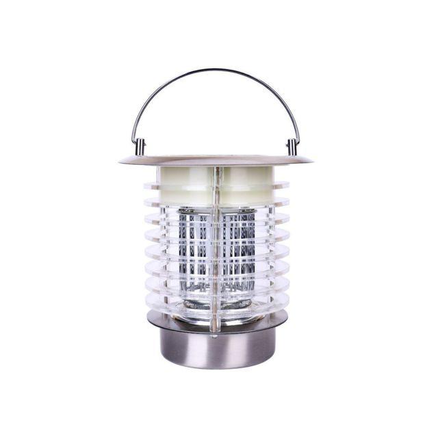 lumisky lanterne solaire anti moustique et clairante en acier inoxydable hauteur 18cm fly. Black Bedroom Furniture Sets. Home Design Ideas